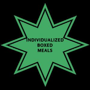 Individual Box Meals, Wood N Spoon